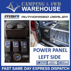 MSA EXPLORER POWER PANEL - LEFT HAND SIDE