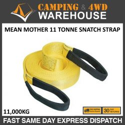 MEAN MOTHER RECOVERY SNATCH STRAP 11 TONNE