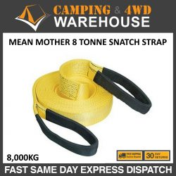 MEAN MOTHER RECOVERY SNATCH STRAP 8 TONNE
