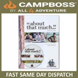 CAMPBOSS 'ABOUT THAT MUCH' COOKBOOK VOLUME 1
