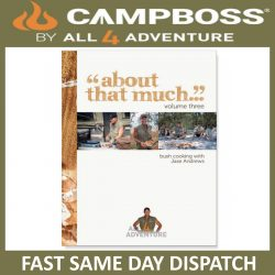CAMPBOSS COOKBOOK 'ABOUT THAT MUCH' VOLUME 3