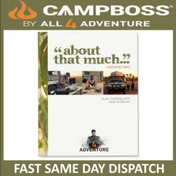 CAMPBOSS COOKBOOK 'ABOUT THAT MUCH' VOLUME 2