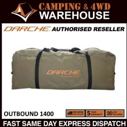 DARCHE OUTBOUND 1400 SWAG BAG DOUBLE