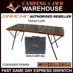 The Darche Traka 1200 Lightweight Foldable Table
