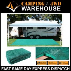 Air Weave Breathable Outdoor Flooring/Matting 2.5mx7.0m Caravan Annex Sand Dirt