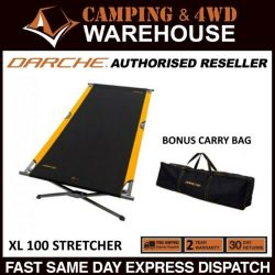 Darche XL100 Strong Foldable Stretcher Bed