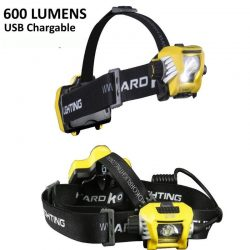 Hard Korr T600 Dimmable Rechargeable Head Torch
