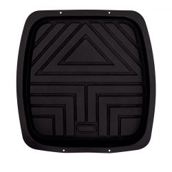 Mean Mother Deep Dish Tray Mat Rear Black