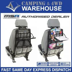 MSA 4X4 SEAT ORGANISER With DROP DOWN TABLE