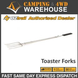 Oztrail 4 Pronged Extendable Toaster Fork