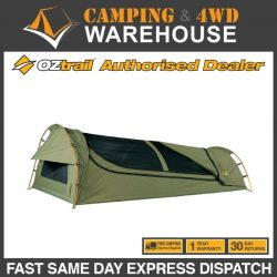 Oztrail 2019 Swag Mitchell Expedition Jumbo Khaki Camping Tent