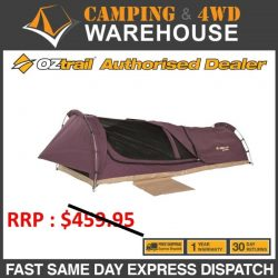 Oztrail 2019 Swag Mitchell Discovery King Purple Camping Tent